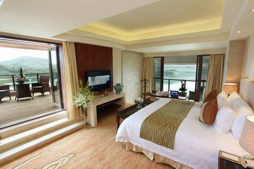没有千岛湖开元度假村的无敌水景,也比不上海南三亚度假酒店的全海景