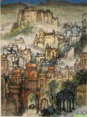 智者的笔墨――记江南著名山水画