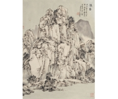 溪山无尽笔从容 ――朱沐云绘画的三个必然