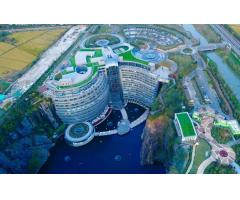 上海佘山世茂洲际酒店(世茂深坑酒店)
